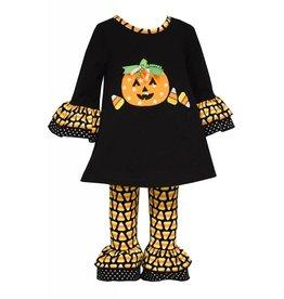 Bonnie Baby Candy Corn Cutie Tunic Set
