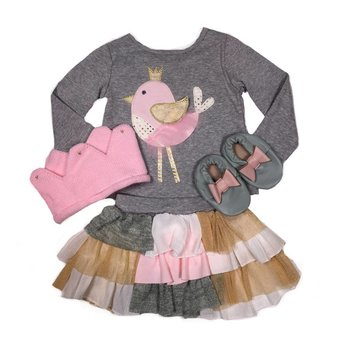Mud Pie Bird Skirt Set