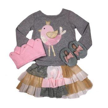 Mud Pie Bird Skirt Set