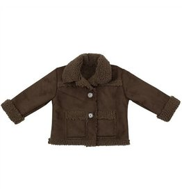 Haute Baby Brown Suede Jacket