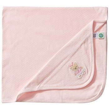 Little Me Light Pink Sweet Bear Blanket