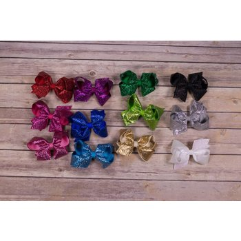 Wee Ones Medium Glitter Bow