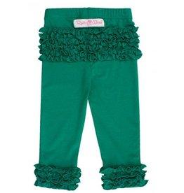 Ruffle Butts Emerald Everyday Ruffle Leggings