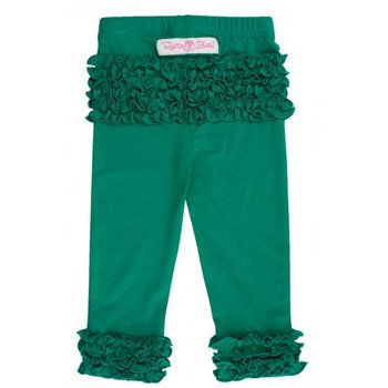 Ruffle Butts Emerald Everyday Ruffle Leggings