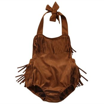 Suede Fringe Bubble