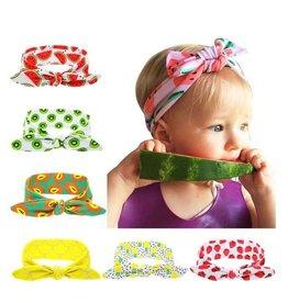 Fruit Printed Turban Headband