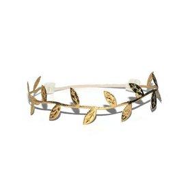 Metallic Leaf Headbands