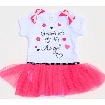 Grandma's Little Angel Onesie