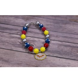 Wonder Woman Chunky Necklace