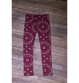 PP LA Cranberry Leggings Dark Rose