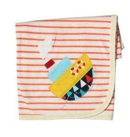 Haute Baby Chug A Lug Receiving Blanket