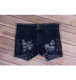 Vintage Havana Stitch Cut Off Jean Shorts