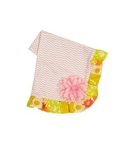 Haute Baby Anna Elise Recieving Blanket