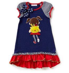 Bonnie Jean Back to School Kitty Girl Dress