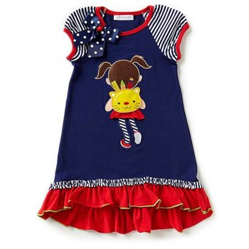 Bonnie Baby Back to School Kitty Girl Dress