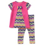 Bonnie Jean Learning Worm Tunic And Legging Set
