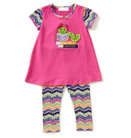 Bonnie Baby Learning Worm Tunic And Legging Set