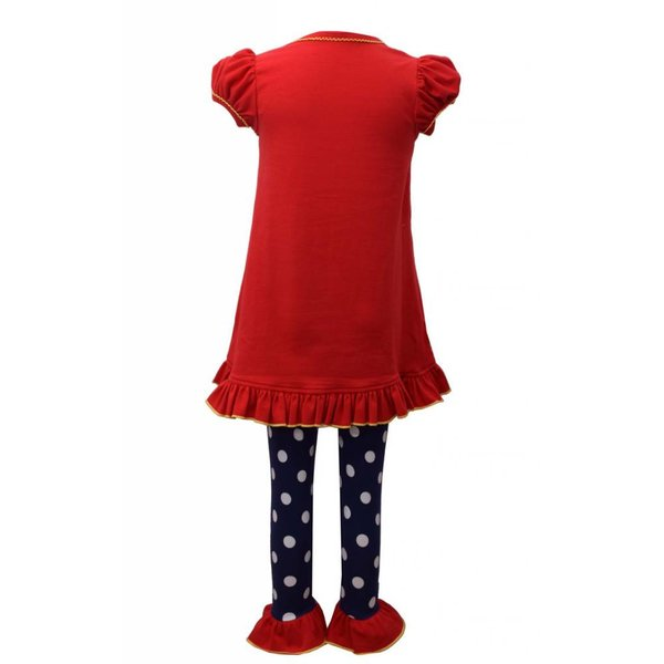 Bonnie Baby Owl Back To School Tunic And Legging Set