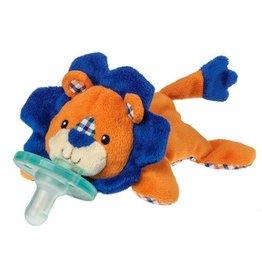 Mary Meyer Orange and Blue Plaid Lion Wubbanub