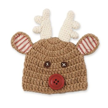 Mud Pie Reindeer Knit Hat