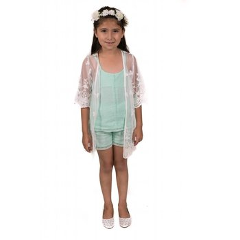 MLKids Mint Tank and Short Set