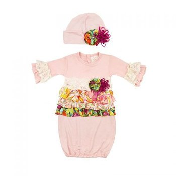 Haute Baby Autumn Bloom Gown