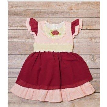 Evie's Closet Cranberry Princess Dress