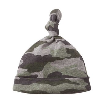 Mud Pie Camo Newborn Cap