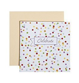 C.R. Gibson Confetti Celebrate Card & Envelope