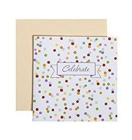 C.R. Gibson Confetti Celebrate Card & Envelope