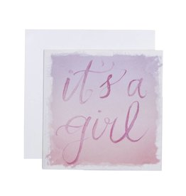 C.R. Gibson It's A Girl Card & Envelope