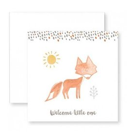 C.R. Gibson Welcome Little One Card & Envelope