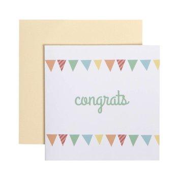 C.R. Gibson Congrats Card & Envelope