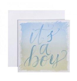 C.R. Gibson It's A Boy Card & Envelope
