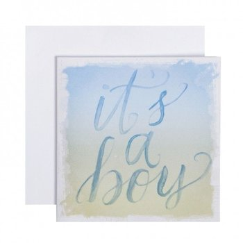 C.R. Gibson It's A Boy Card & Envelope