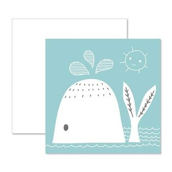 C.R. Gibson Whale Card & Envelope