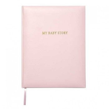 C.R. Gibson Pink Bonded Leather Memory Book