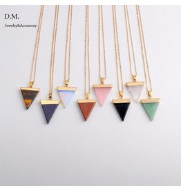 Boho Triangle Necklace