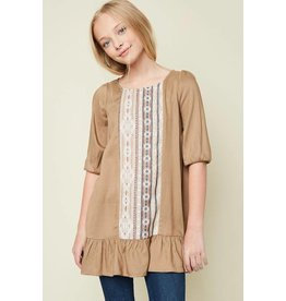 Hayden Fawn Tunic Dress