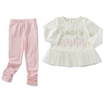 Mud Pie Santa's Favorite Tunic and Legging Set
