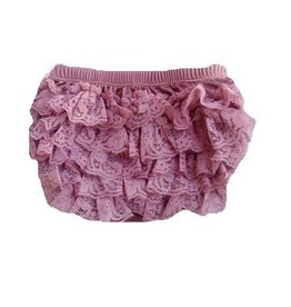 Mauve Lace Bloomers
