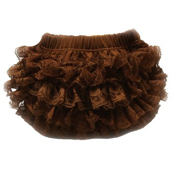 Brown Lace Bloomers