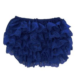 Navy Lace Bloomers