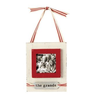 Mud Pie The Grands Picture Frame Ornament