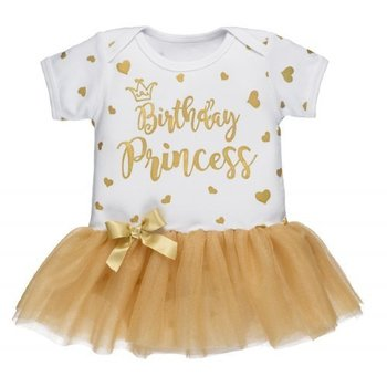Ganz Gold Birthday Princess Onesie with Tutu (9/12M)