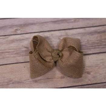 One Stop Bow Shop 5 in Burlap Bow