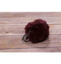 Ganz Fur Pom Pom Keychain