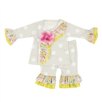Haute Baby Chloe Collection Criss Cross Set