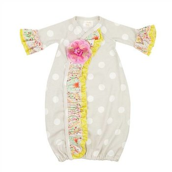 Haute Baby Chloe Collection Gown 0-3M