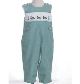 Mom & Me Mallard Duck Green  Romper